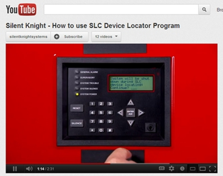 Silent Knight's how-to video series is available on the company website and on YouTube.