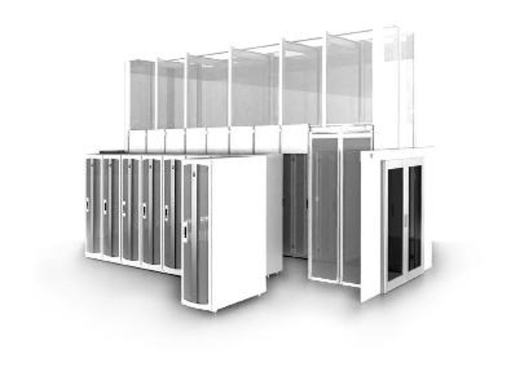 Chatsworth Products Inc.'s Frame Supported Hot Aisle Containment Solution