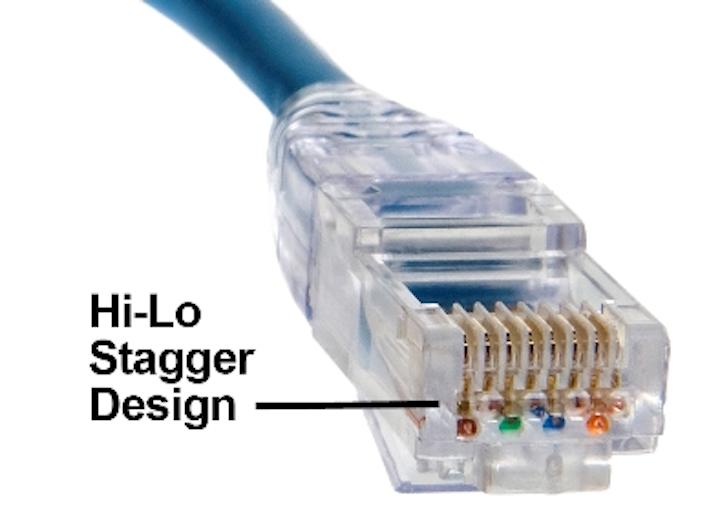 Platinum Tools' Hi-Performance Cat 5e/Cat 6 Modular Plug