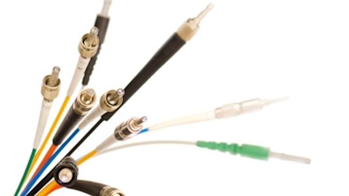 Laser Components' fiber assemblies for UV wavelengths feature the company's FBPI fiber.