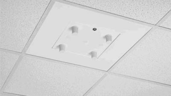 Oberon's Model 1058-08 suspended ceiling enclosure is designed to NEMA 4 standards.