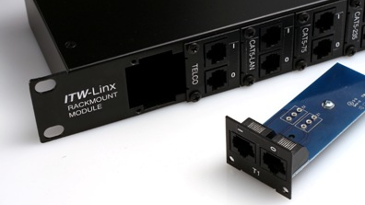 The SurgeGate Modular Rack Mount Surge Protector from ITW Linx