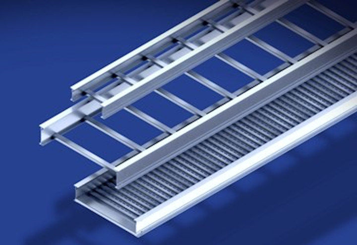 Itray from Legrand features an optimized rail design that allows midspan splicing while maintaining full NEMA load class.