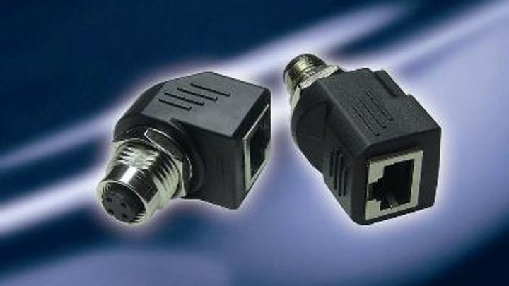 Amphenol M12-RJ45 adapter