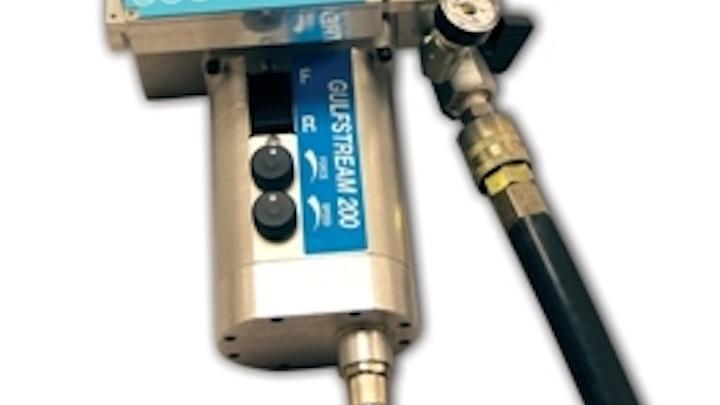 The Condux Gulfstream 200 micr fiber optic cable blower