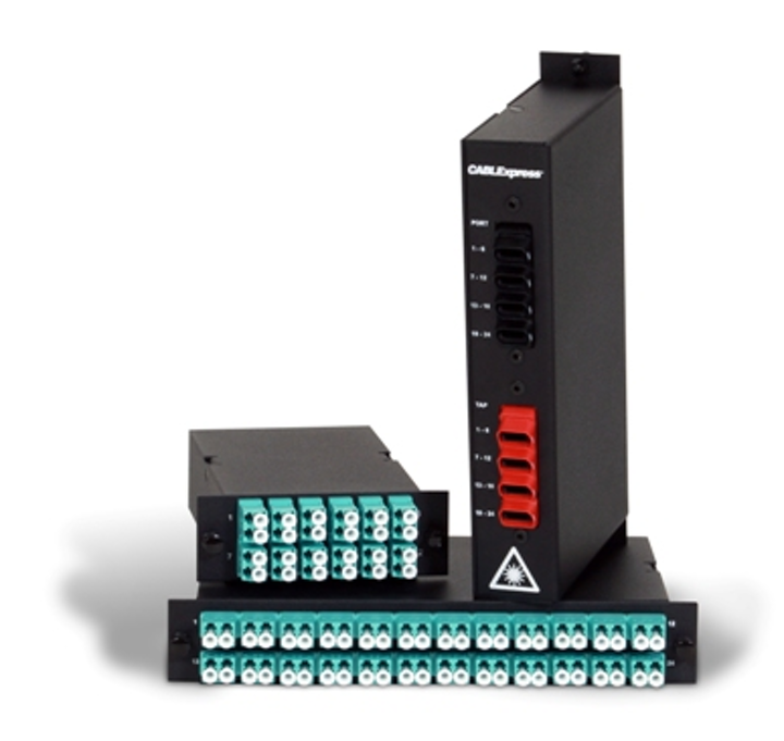 CablExpress's tap modules allow for passive optical tapping and enable more-efficient network monitoring, the company says.