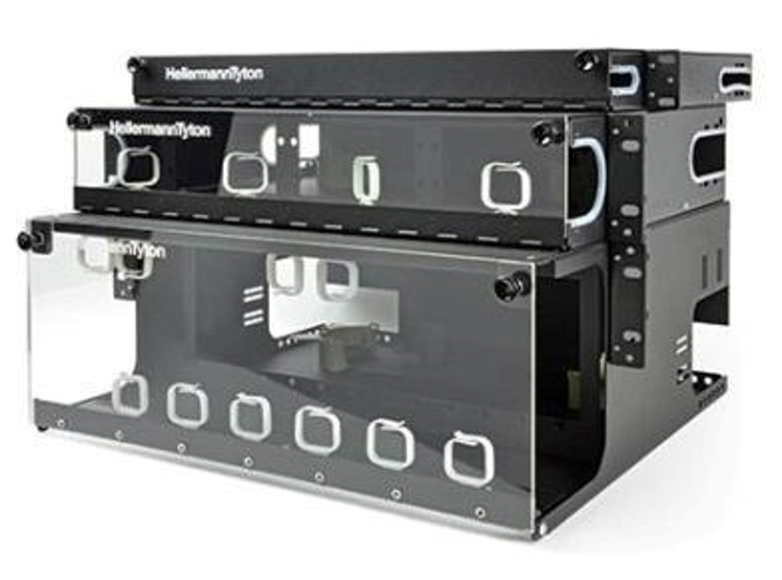 In addition to wall- and rack-mount fiber enclosures and accessories, HellermannTyton's HelaNet solutions line includes jumpers, inserts, adapter panels, connectors, trunk cables and tools to provide the essentials of field-terminated fiber applications.