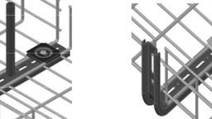 WB Technologies' WBT No Splice is both a support and splice point for basket tray.