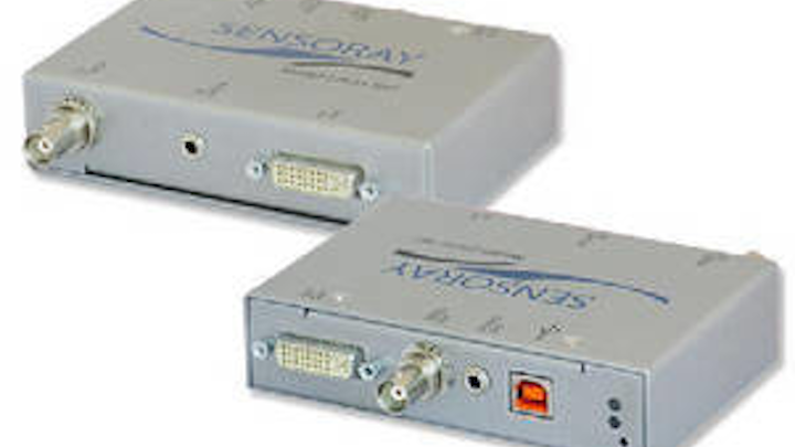 HD/SD USB audio/video encoder supports both analog and digital input formats