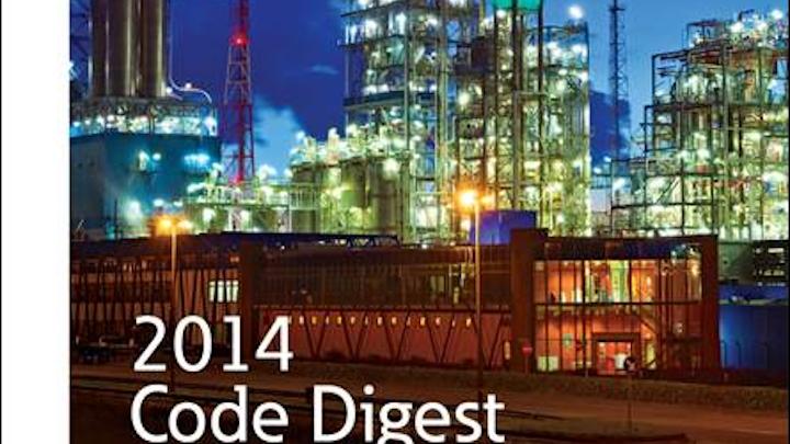 Eaton's Crouse-Hinds unit updates 2014 NEC digest for hazardous locations per NFPA