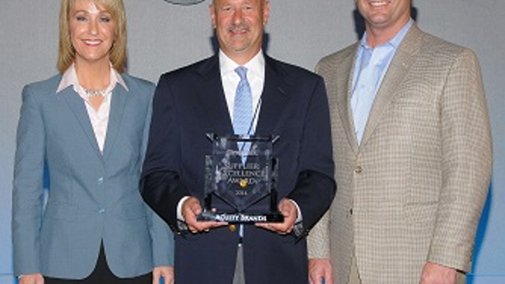 Graybar awards Acuity for supplier excellence