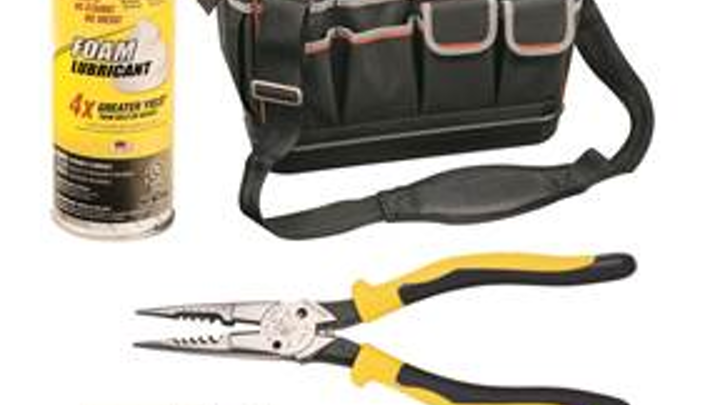 Klein Tools wins 4 product awards; wire pulling lubricant cited
