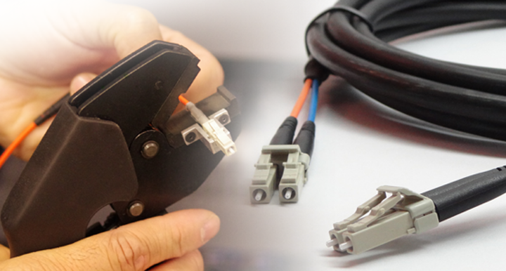 OFS unveils LC 'crimp and cleave' connector, termination kit for industrial cabling system