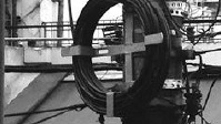 What's wrong with storing outside-plant fiber-optic cable like this? Plenty, according to a technical paper authored by Hubbell Power Systems.