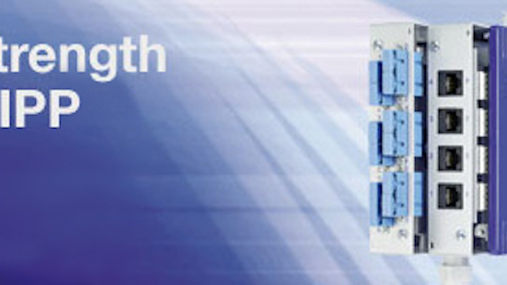 For structured fiber, copper, combo cabling management, Belden launches Modular Industrial Patch Panel (MIPP) products