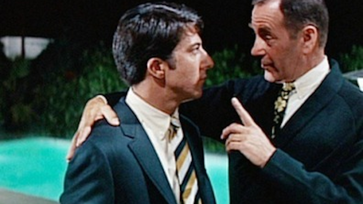 """Imagine if, in The Graduate, the one word Mr. McGuire said to Ben was """"cable"""" instead of """"plastics""""?"""