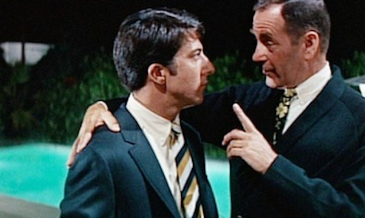 Imagine if, in The Graduate, the one word Mr. McGuire said to Ben was 'cable' instead of 'plastics'?
