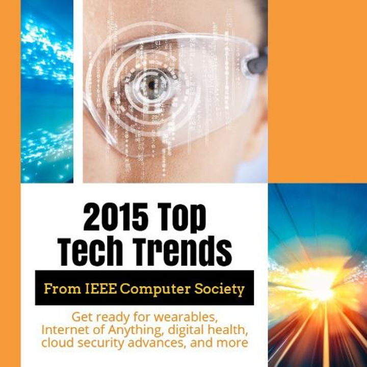 IEEE ranks top 10 technology trends for 2015