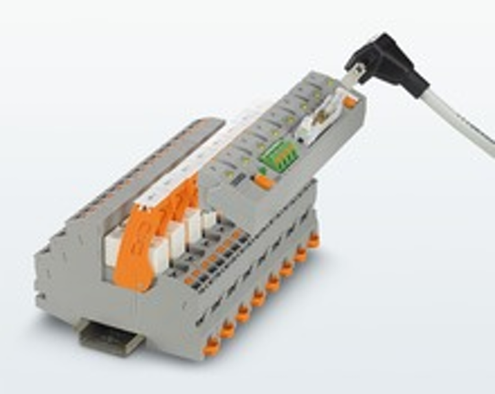 System cabling adapter streamlines industrial relays