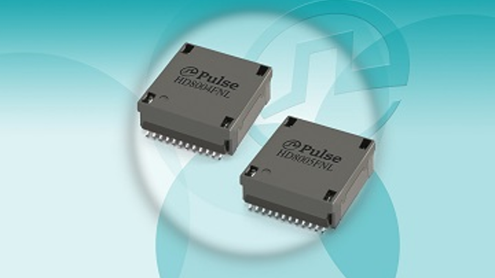 Pulse Electronics intros HDBaseT industrial temperature transformer