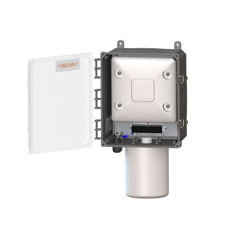 Heated, PoE-powered Wi-Fi enclosure protects access point performance in freezers, cold storage rooms