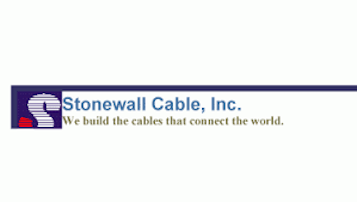 Stonewall Cable marks 30 years of custom communications cables manufacturing