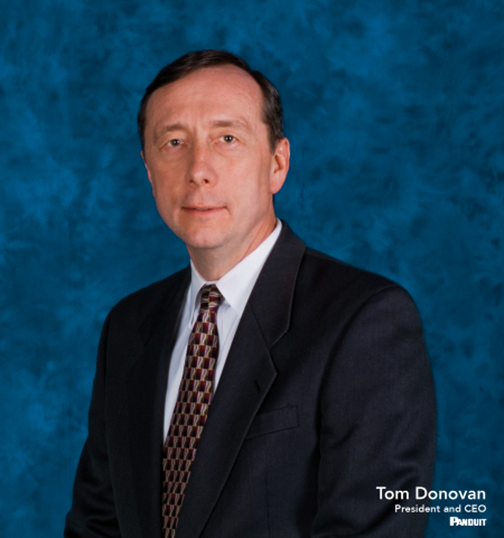 Panduit appoints Tom Donovan as new president and CEO