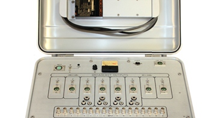 RCI Custom's BM-AVSDI816 is an AV distribution unit that combines broadcast-quality audio with HD-SDI video.