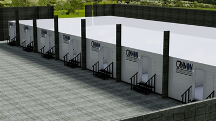 Modular data centers, including these offered by Cannon T4 and all other containerized and modular data center facilities, will account for a mere 1 percent of global data center IT load in 2015, IHS says. That 'measly' 1 percent, as IHS analyst Liz Cruz characterizes it, 'ends up being an annual market worth almost three-quarters of a billion dollars,' Cruz said.