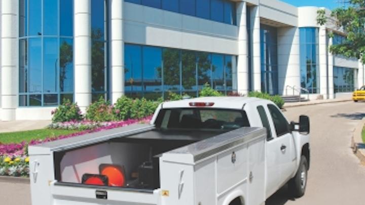 Utility-grade retractable tonneau covers protect cabling contractors' truck-bed tools, gear