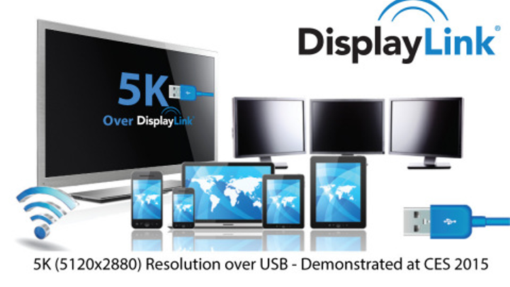 DisplayLink demos 5K display connectivity over single USB cable