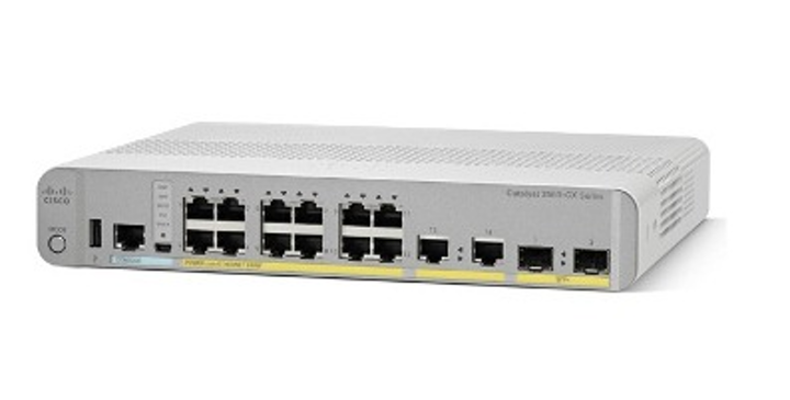 The 2.5- and 5-Gbit ports in Cisco's 3560-CX switch are built on NBase-T technology to deliver multigigabit speeds, as well as power, to 802.11ac Wave 2 access points over the installed base of Category 5e or Category 6 cabling.