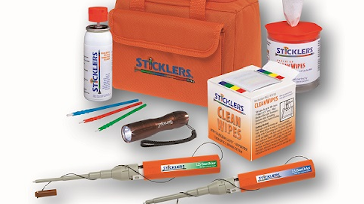 MicroCare readies Sticklers fiber-optic cleaners for BICSI Winter 2015