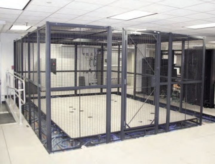 Chatsworth Products Inc.'s Wire Cage Enclosures provide a security partition and physical security for equipment in multi-tenant data centers, colocation sites, entrance facilities, equipment rooms and other shared facility spaces.
