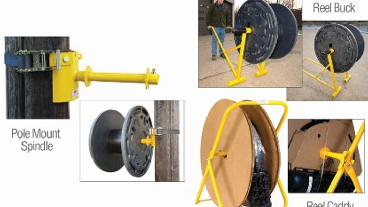 General Machine Products says these new accessories make fiber-optic cable installation safer and more productive.