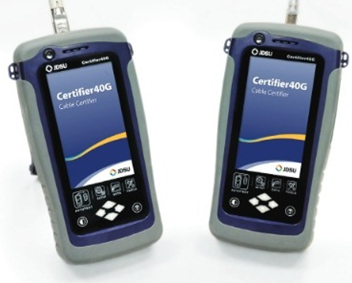 The Certifier40G is among the JDSU network service enablement tools that Streamline Technologies will represent in California and Hawaii.