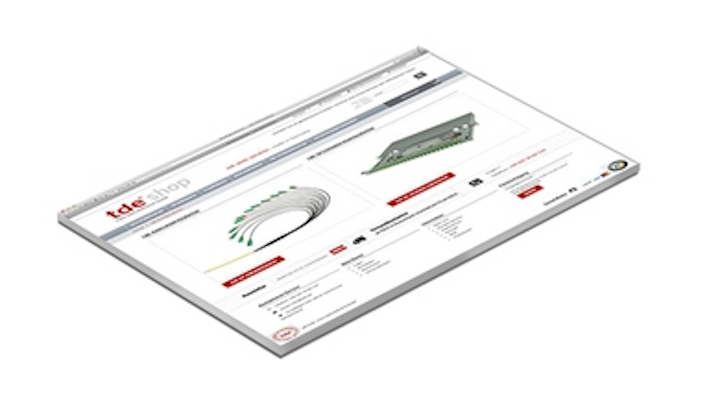 trans data elektronik's only configurator and web shop now accommodates fiber-optic trunk cables, patch cables, splice boxes, and breakout boxes