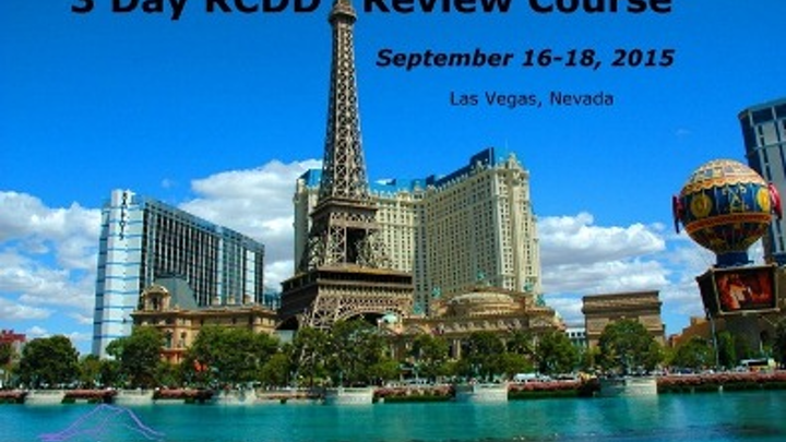 How can you go to Las Vegas and leave nothing to chance? Ventoux Learning Network says if you spend September 16-18 preparing with them for the RCDD exam, you'll be doing just that - leaving nothing to chance. 'We cover every page of every core chapter' of the TDMM, Ventoux says.