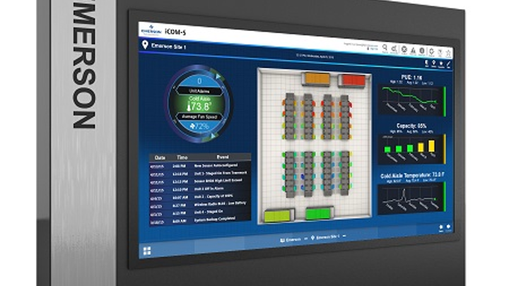 Emerson upgrades data center thermal control system