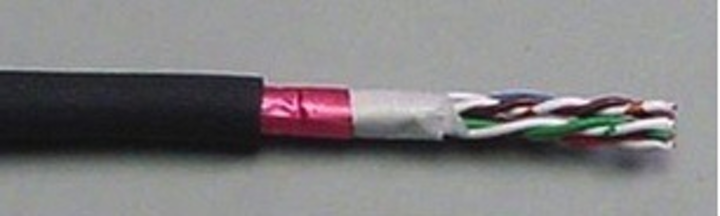 Shown here is Comtran Cable's Category 6 X-Link network cable, designed for nuclear power production facilities.