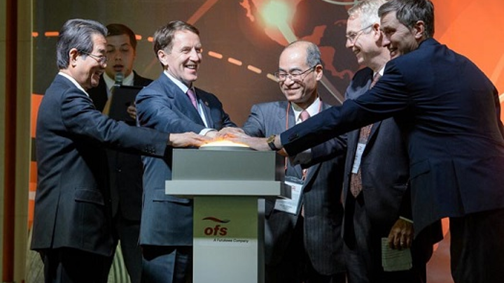 OFS opens new fiber-optic cable factory in Russia