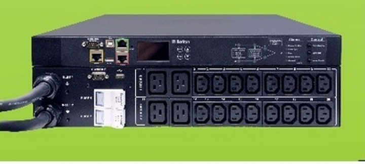 Raritan's Intelligent Rack Power Transfer Switch now offers outlet-level metering and power switching, enhancing data center power efficiency efforts.
