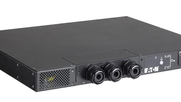 Eaton's latest rack ATS enables power redundancy for data center critical equipment