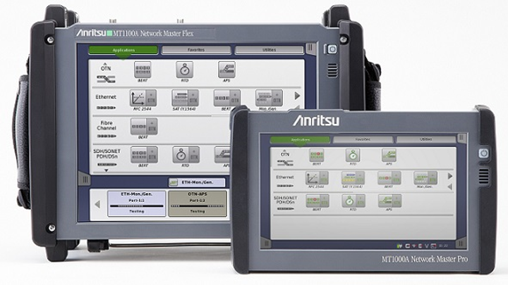 Anritsu enhances portable testers for mobile fronthaul, optical transport networks