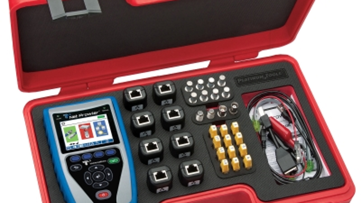 Platinum Tools intros Net Prowler Pro cable test kit