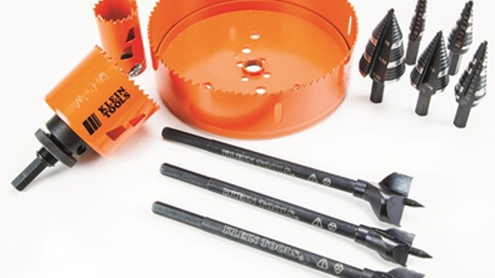 Cable installation jobs can get easier with the use of these new holemaking tools, says the tools' manufacturer Klein.