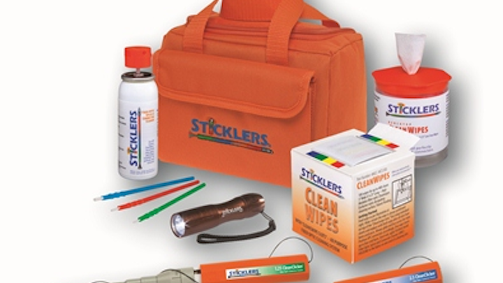 Sticklers demonstrated its High Volume Fiber Optic Cleaning Kits at the OSP Expo September 2-3.