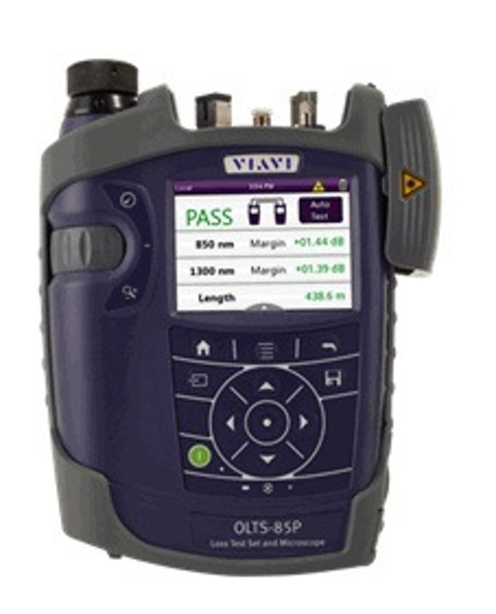 Viavi Solutions' OLTS-85/85P combines industry standard Tier 1 testing and endface inspection in accordance with IEC 61300-3-35.