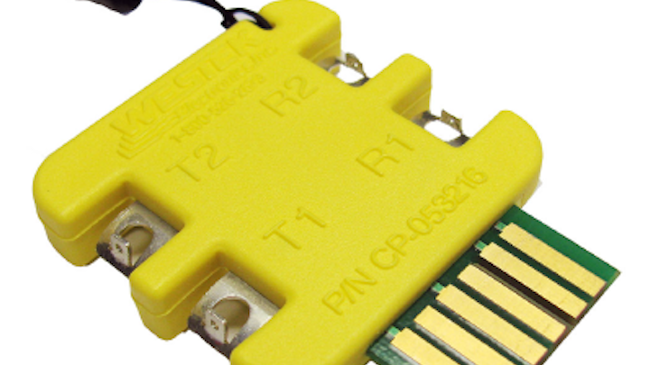 D3/D4 access card enables test, monitoring of telco cable pairs