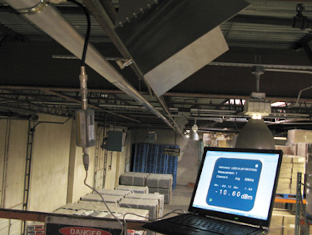 Covering a 40k-sf warehouse with one access point   Cabling